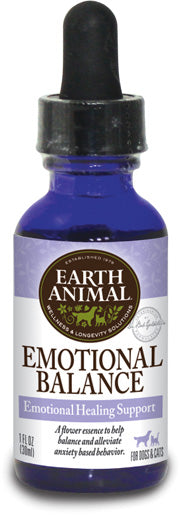 Emotional Balance, Healing Support Drops for Dogs & Cats, 1 oz