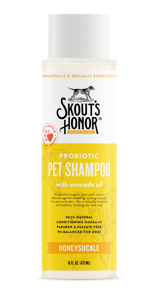 Probiotic Pet Shampoo, Assorted, 16 fl oz