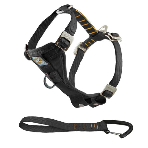 Enhanced Strength Tru-Fit Dog Car Harness, Black