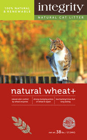 Natural Wheat+ Cat Litter