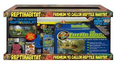 40 Gallon ReptiHabitat Aquatic Turtle Starter Kit