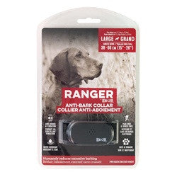 Ranger Anti-Bark Collar for Large Dogs