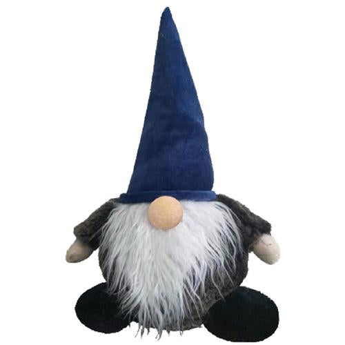 Blue Gnome Dog Toy, 19""