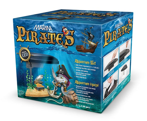 PIRATES Aquarium Kit 1 US Gal (3.7 L)