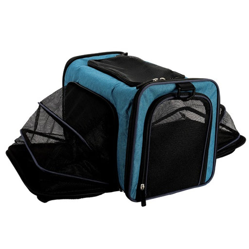 "Explorer Expandable Soft Carrier, Assorted 17"" x 10"" x 12"""