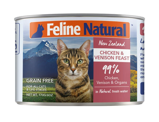 New Zealand Chicken & Venison Liver Feast in Fresh Water, 6oz