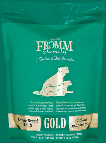 FROMM GOLD, LARGE BREED ADULT DRY DOG FOOD
