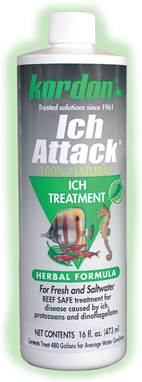 Ich Attack® Natural Disease Treatment for control of Ich