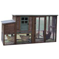 Hen House II Chicken Coop 78 x 30 x 41