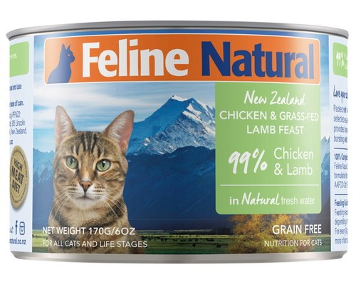 New Zealand Chicken & Lamb Liver Feast in Fresh Water, 6oz