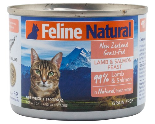 New Zealand Lamb & King Salmon Liver Feast in Fresh Water, 6oz