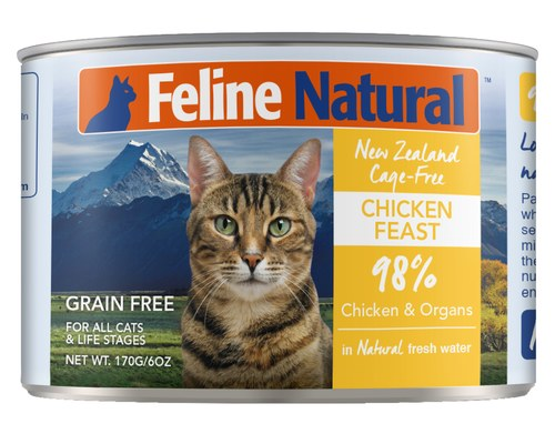 New Zealand Chicken Feast in Fresh Water, 6oz