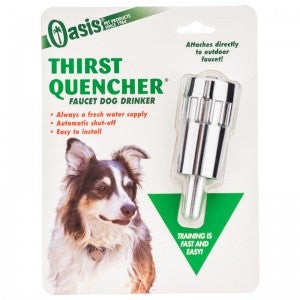 Thirst Quencher - Faucet Dog Waterer