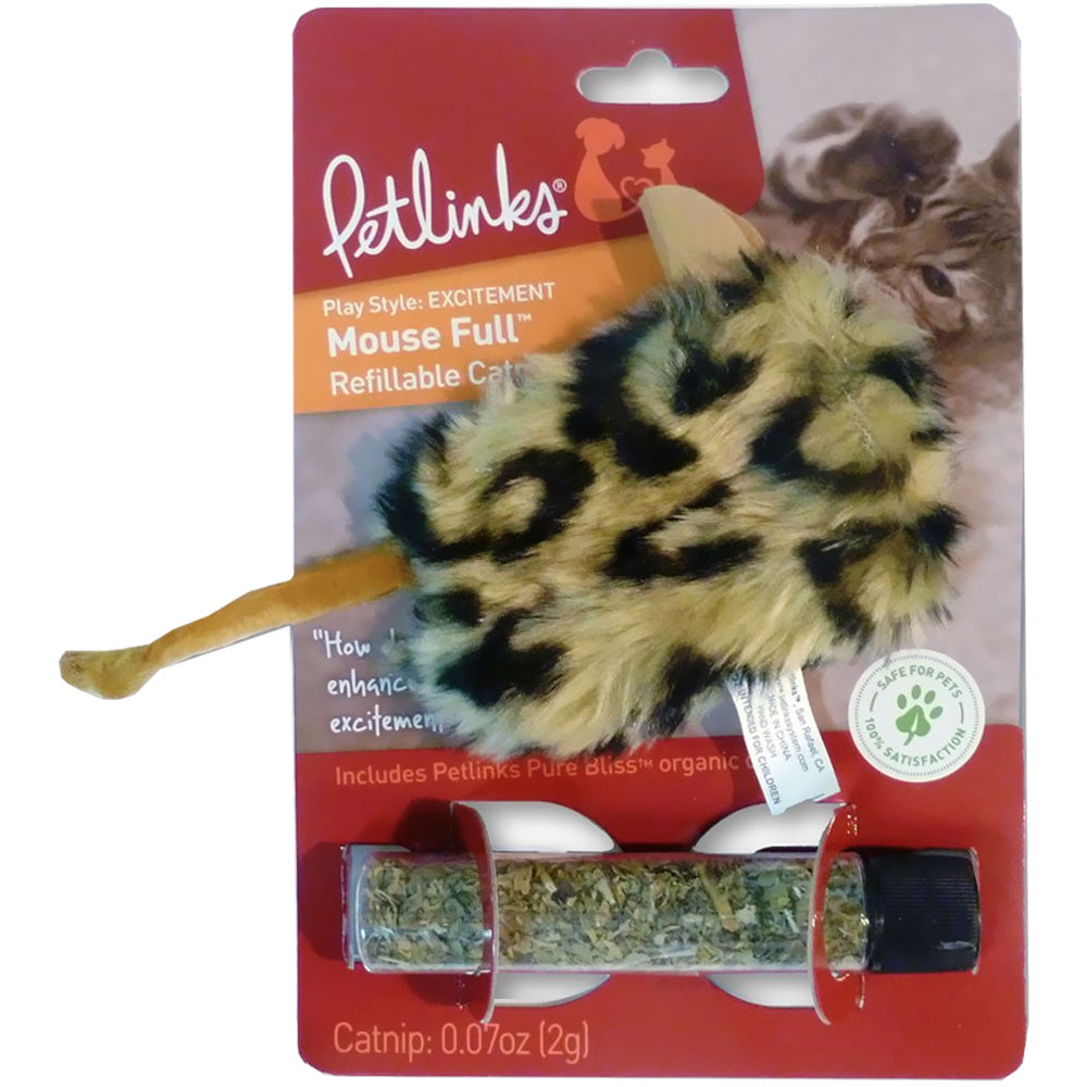 Mousefull, Refillable Cat Nip Toy