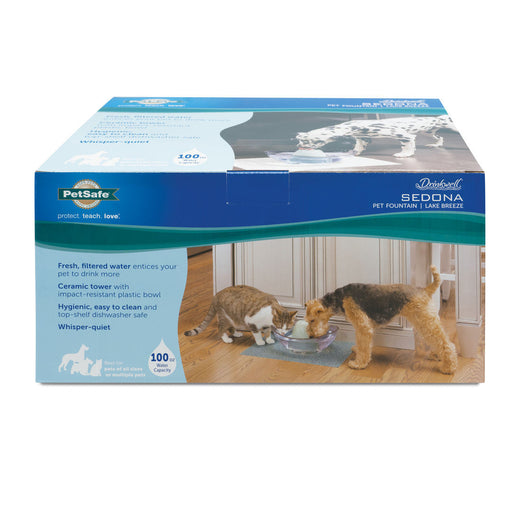 PetSafe® Sedona Pet Fountain Lake Breeze