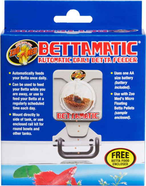 BettaMatic- Automatic Betta Feeder