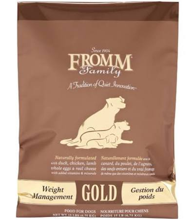 GOLD DRY DOG FOOD, WEIGHT MANAGEMENT