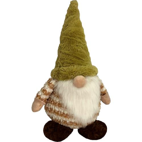 "Stripes Gnome Dog Toy, 13"" or 19"""