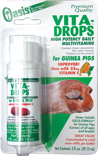 Vita Drops® for Guinea Pigs