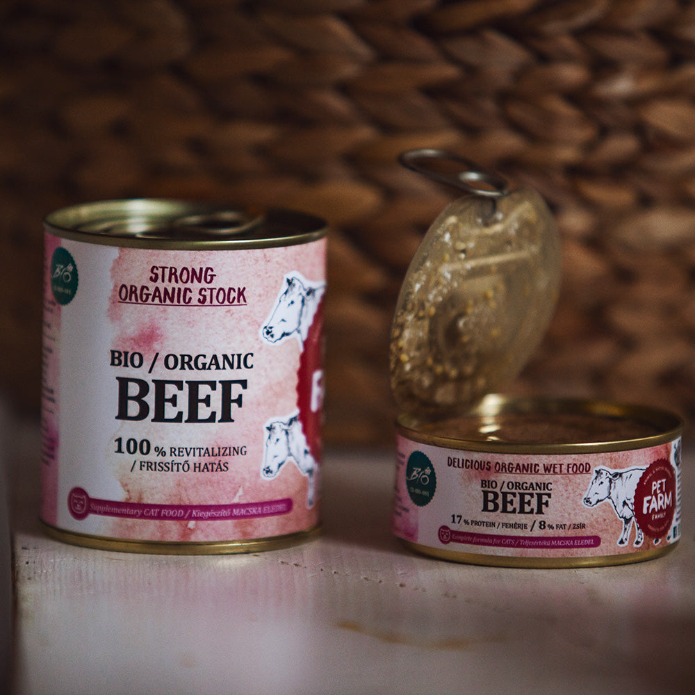 Organic Beef for Cats