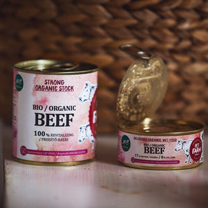 Organic Beef Stock for Cats