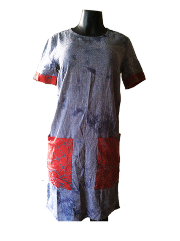 Vogo Tie Dye Shift dresses