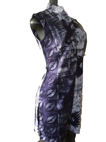Vogo cotton Batik sleeveless Tunic