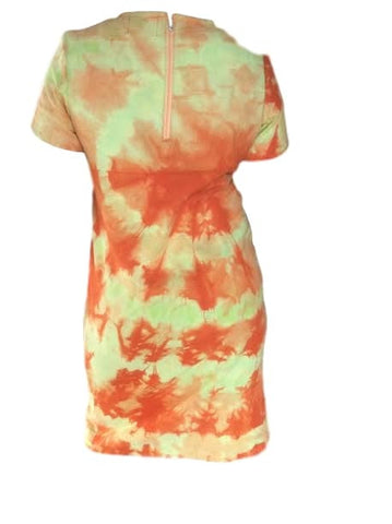 Batik & Tie Dye Shift Dress