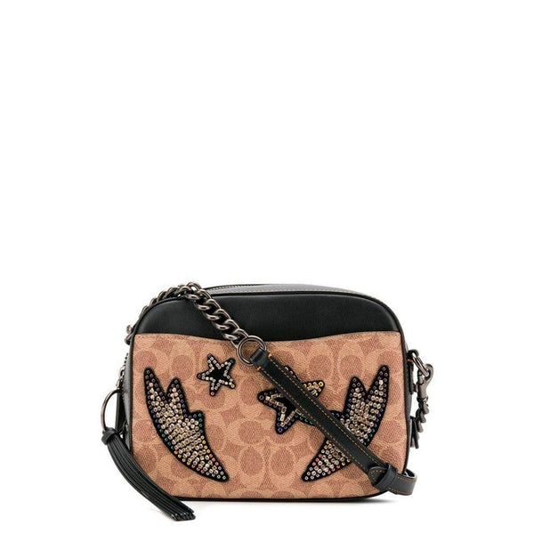 Coach  Blacck Coach Crossbody with star- 31652