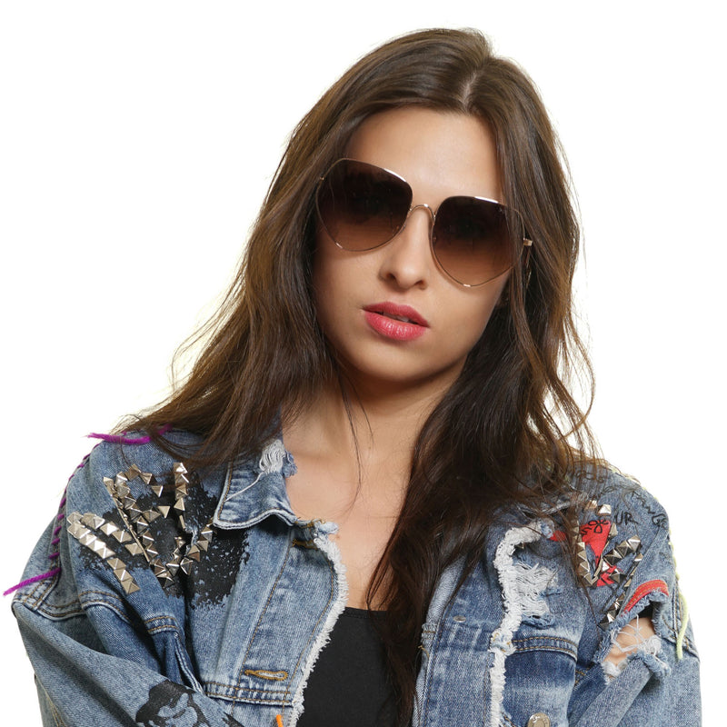 Gold Women Sunglasses