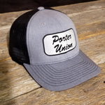 Porter Union Trucker Hat (Grey/Black)