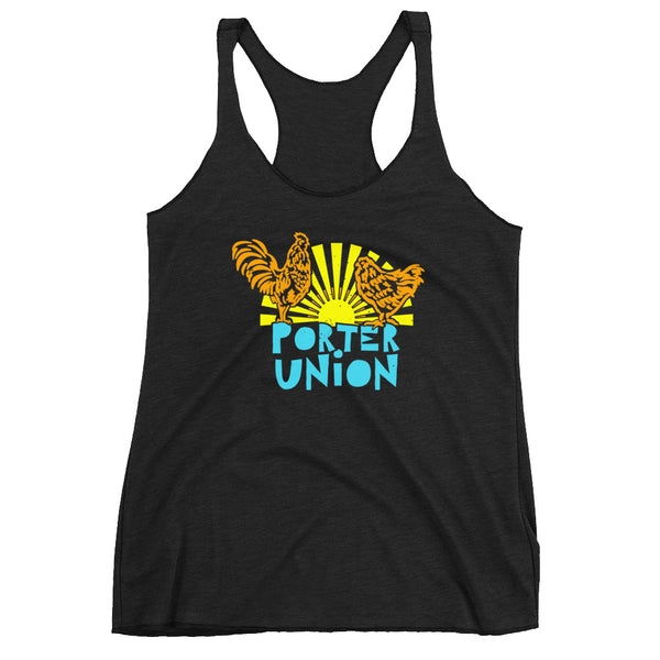 Women's Racerback Chicken Tank