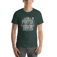 Porter Union Logo Short-Sleeve Unisex T-Shirt