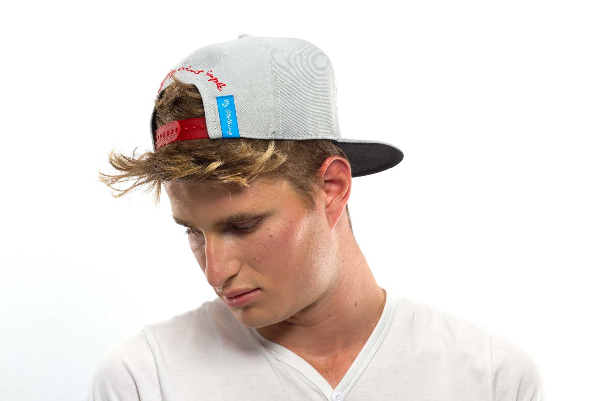 Grey Simple Snap Back