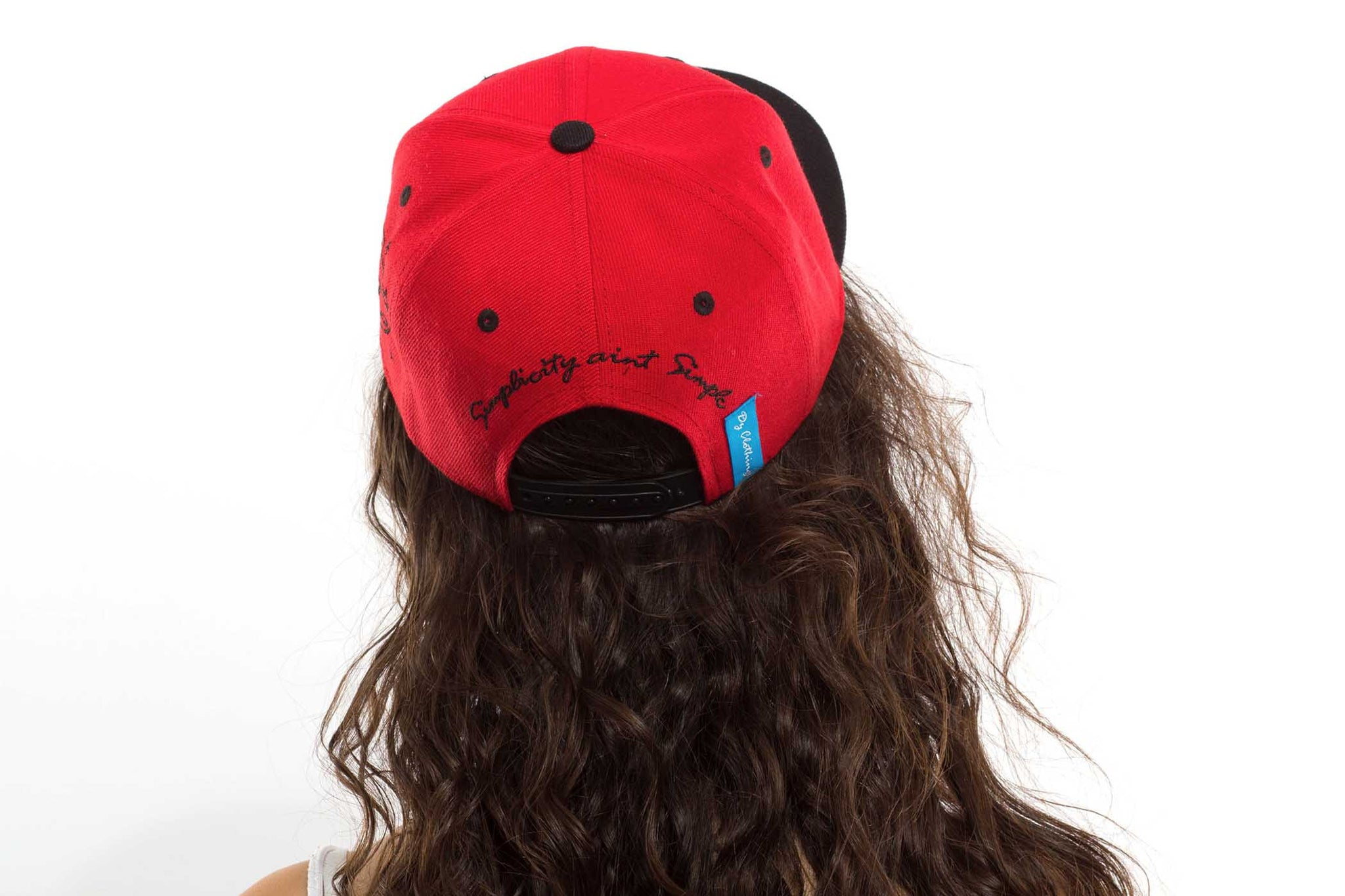 Red Simple Snap Back
