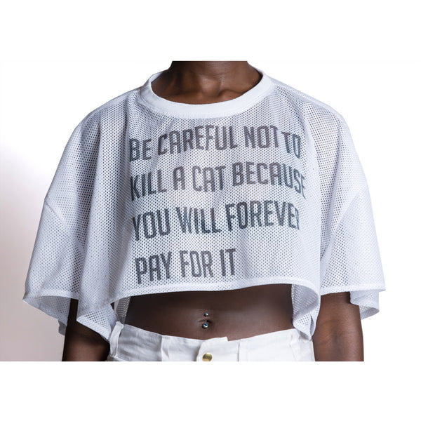 Be Careful Crop Top