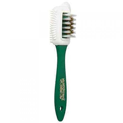Professional Quality Nubuck/Suede Cleaner Brush-Wire bristles and Rubber Dimples