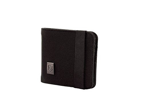 Victorinox Bi-Fold Wallet, Black, One Size