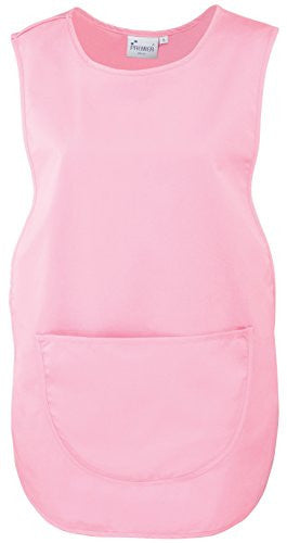 Premier Pocket Tabard - 18 Colours Available - Pink - M