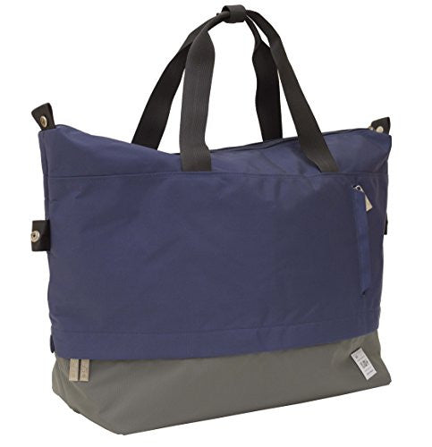 Flight 001 Stowaway Weekender Bag, Midnight/Asphalt
