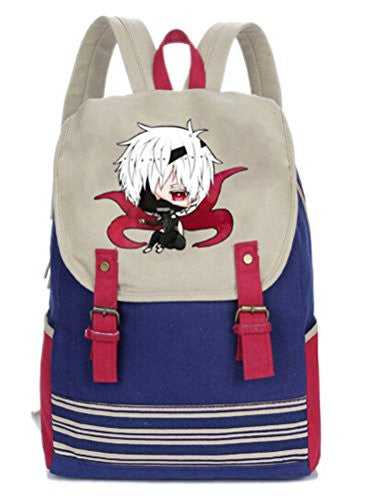 YOYOSHome Anime Tokyo Ghoul Cosplay Kaneki Ken Cartoon Rucksack Backpack School Bag