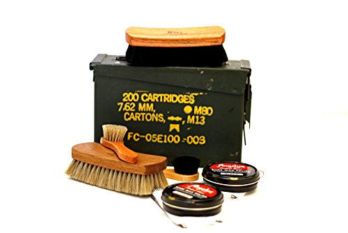 Shinekits Ammo Can Shoe Shine Kit