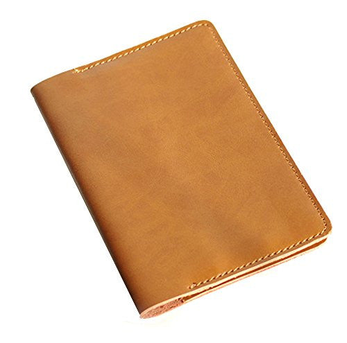 Passion Junetree genuine leather Passport Cover Holder Card Holder Case