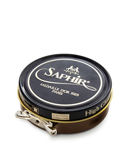 Saphir 50ml Pate de Luxe Wax One Size Light Brown