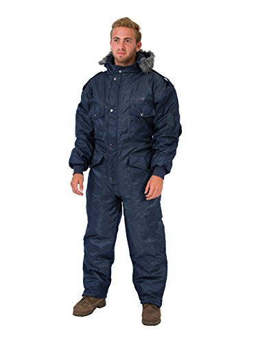 Navy Blue IDF Snowsuit Winter Clothing Snow Ski Suit Coverall Insulated Suit (XS)