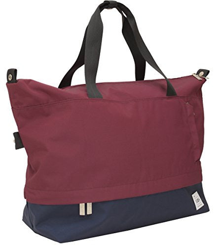 Flight 001 Rothko Hidden Compartment Duffle, Burgundy/Midnight, One Size