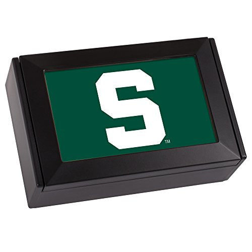 NCAA Collegiate Team Black Digital Fight Song Box: Michigan State University