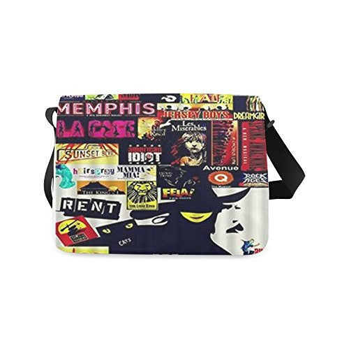 deardaling Broadway Musicals Wicked Custom School Bag Messenger Bag Shoulder Bags