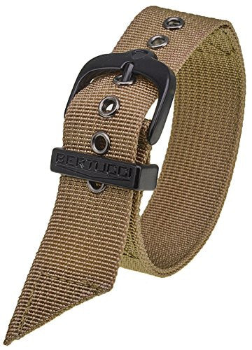 Bertucci DX3 #27 Khaki Nylon Watch Band Fits A-2T, A-3T, B-1T, D-1T, G-1T, A-2S