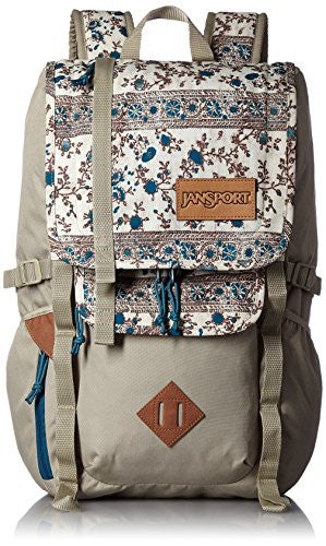 JanSport Hatchet Backpack Corsair Blue Henna Vine